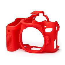EasyCover Camera Case For Canon 77D red