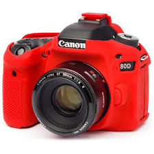 EasyCover Camera Case For Canon 80D red