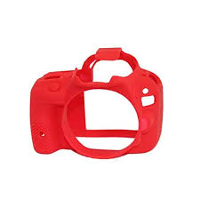 EasyCover Camera Case For Canon 100D / SL1 red