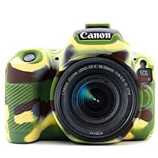 EasyCover Camera Case For Canon 200D / 250D / SL2 / SL3 camouflage