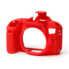 EasyCover Camera Case For Canon 800D / T7i red