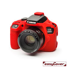 EasyCover Camera Case For Canon 4000D red